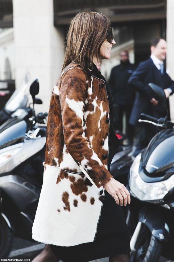 2019 moda trendleri inek desenleri