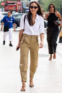 2019 sokak modası kargo pantolonlar