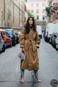 2019 sokak modası trençkotlar