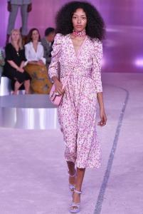 80'ler modası puf kollu nostaljik elbiseler 2019