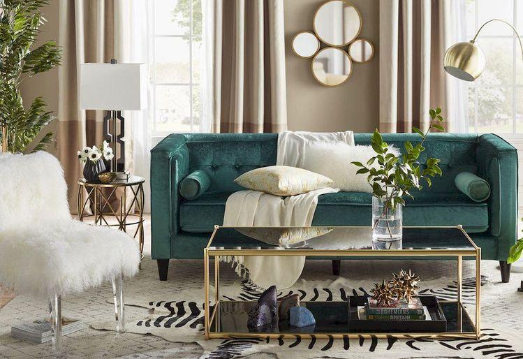 altın rengi ev dekorasyon önerileri - tasarımlar