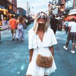 Dantelli beyaz elbise modelleri 2019