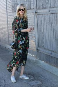 Elbise converse sokak stili 2019