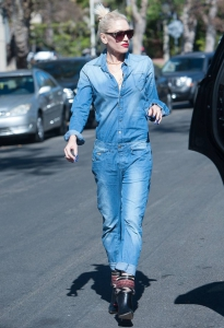 Gwen Stefani denim stili