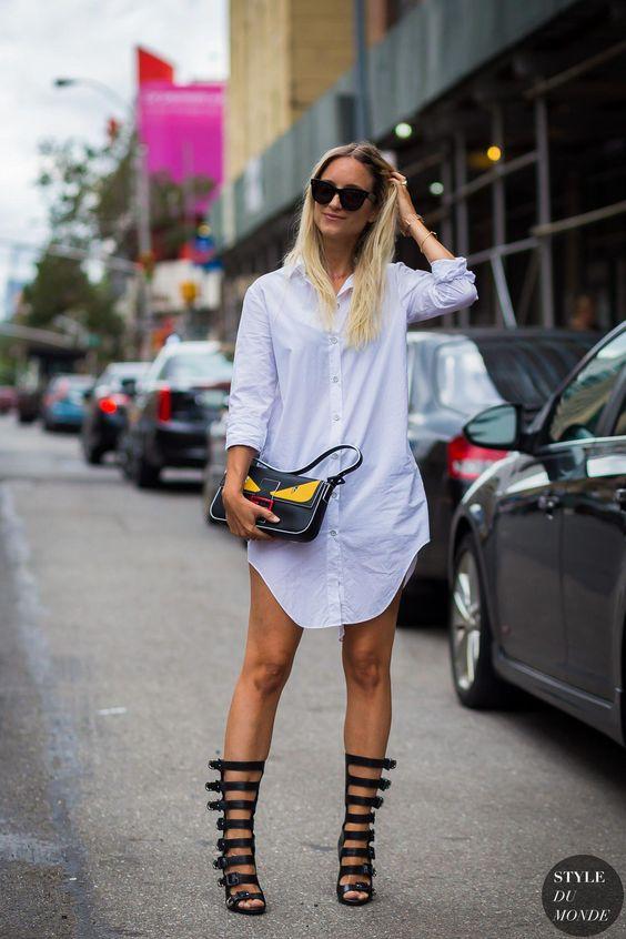 İlkbahar yaz 2019 gömlek elbise modelleri