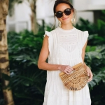 İlkbahar yaz beyaz elbise modelleri 2019