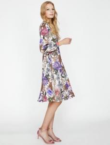 Koton çiçek desenli yazlık elbise fiyatı ₺89,99
