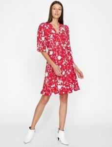 Koton yazlık kısa çiçekli elbise fiyatı ₺79,99