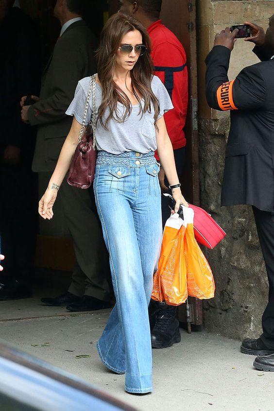 Victoria Secret yüksek bel jean stili 2019