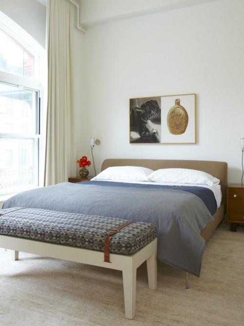Yatak odası bank dekorasyon örnekleri 2019