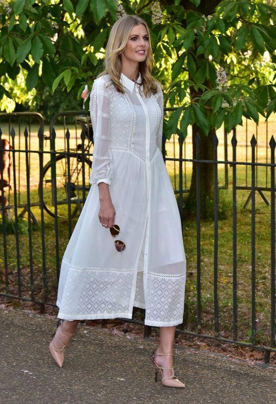 6a10c09aecbb5 Yazlık uzun beyaz elbise modelleri 2019 – Pembe Şeker Moda Blogu
