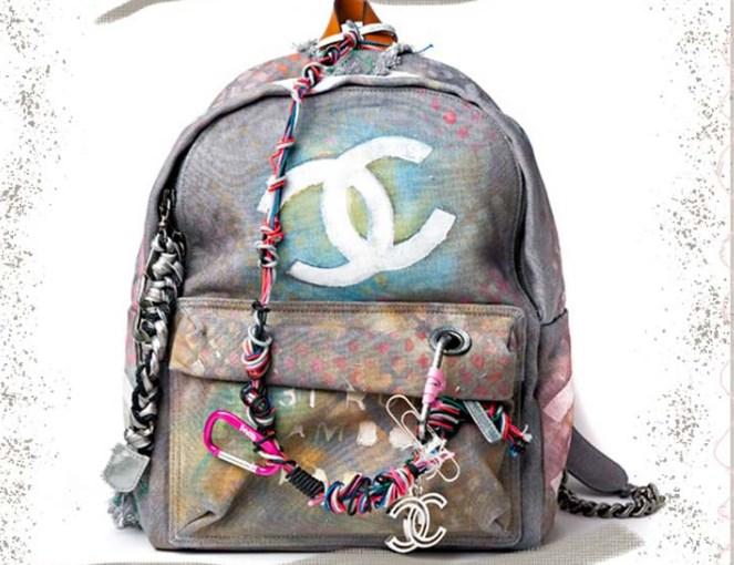 Chanel Oh My Boy Graffiti Sırt Çantası