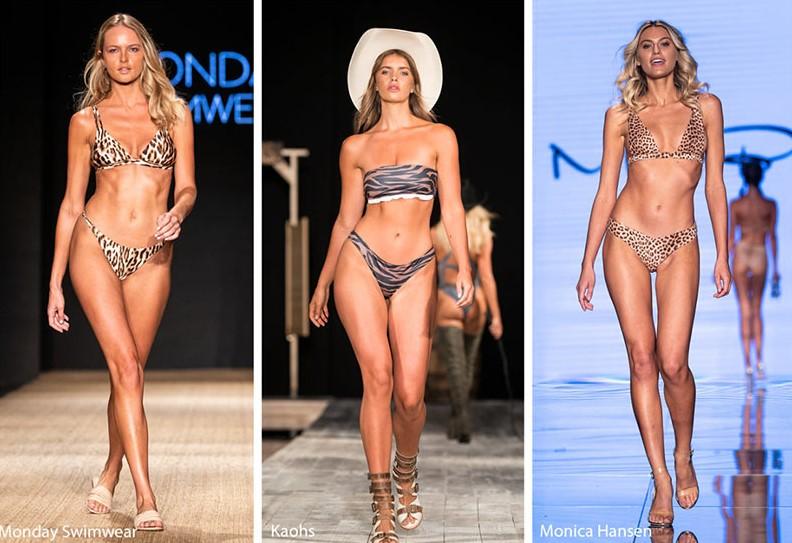 Hayvan desenli mayo ve bikini modelleri 2019