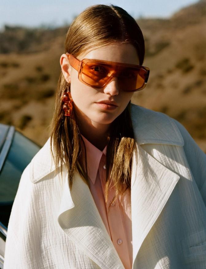 Mango ekran stil güneş gözlükleri 2019