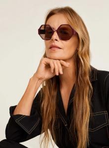 Mango geometrik güneş gözlükleri 2019