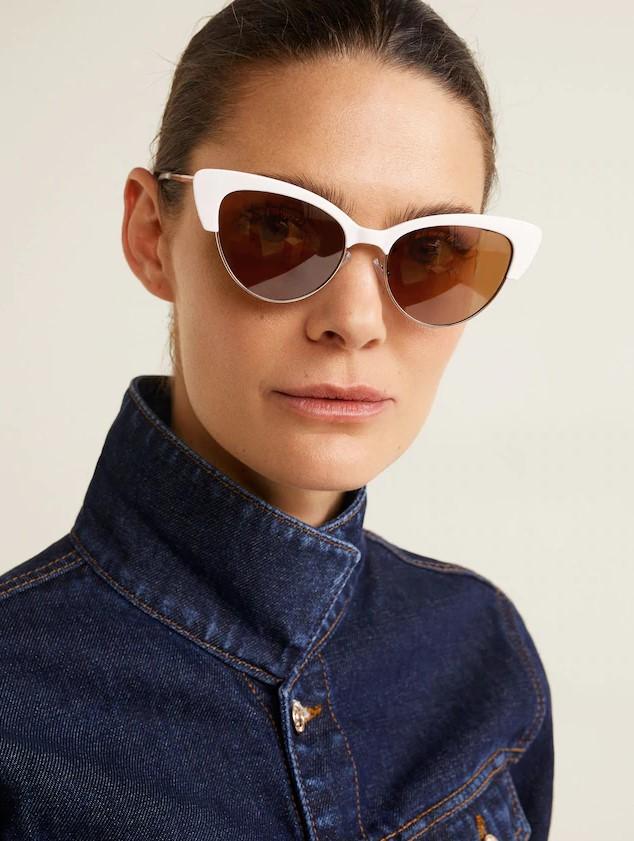 Mango retro tarzı güneş gözlükleri 2019
