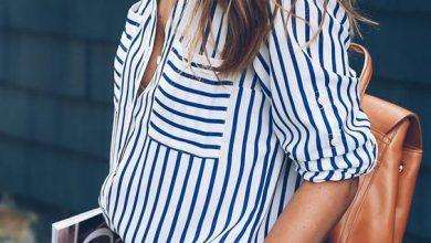 Şimdi Moda 2019 Renkli Çizgili Gömlekler ve Stil Önerileri