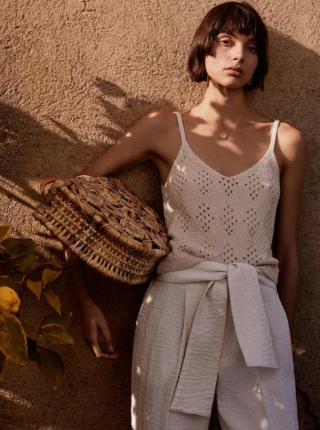 76c423eedf2d6 Mango 2019 İlkbahar Yaz Bayan giyim Koleksiyonu   Pembe Şeker Moda Blogu