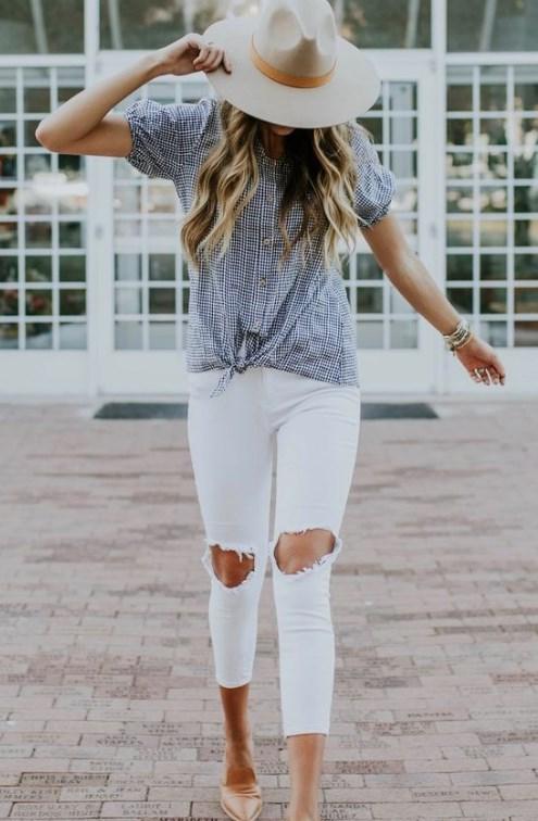 Bayanlar İçin 20 Güzel İlkbahar Yaz Kıyafetleri 2019