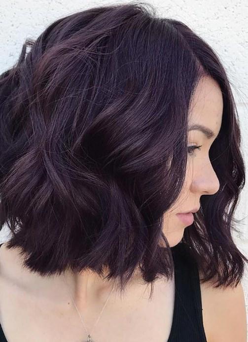 erik rengi saç modelleri 2019
