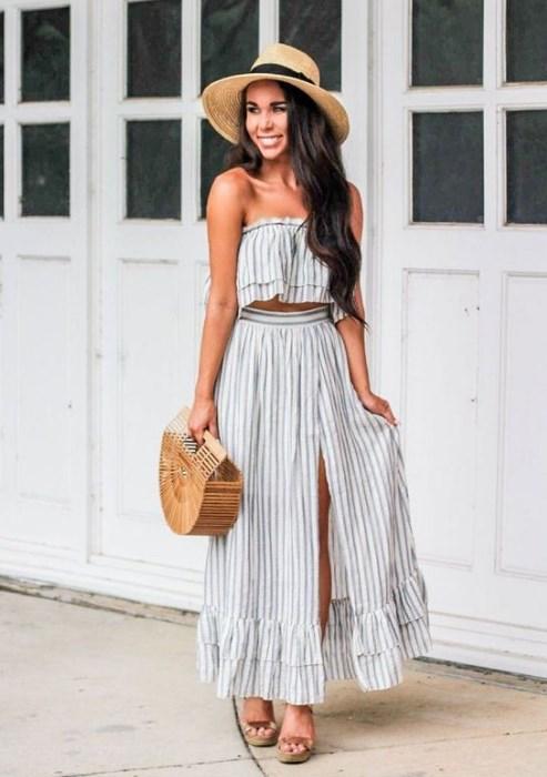 güzel bayan yaz kıyafetleri 2020