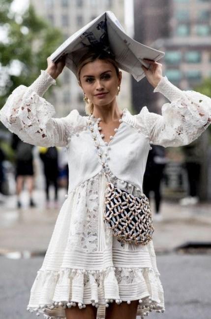 ilkbahar beyaz elbise modelleri 2019 2020