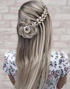 şelale örgü saç modeli 2020
