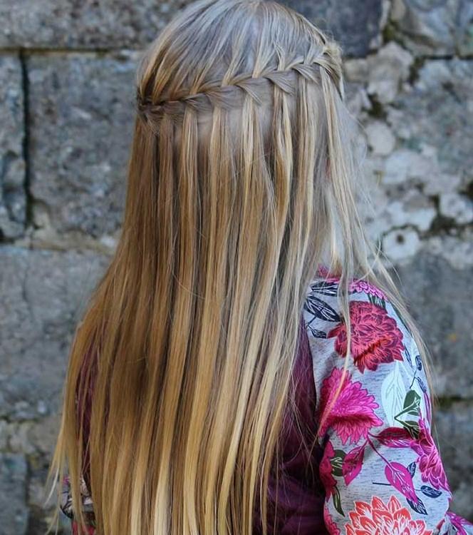 şelale örgü saç modelleri 2019 2020