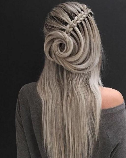 şelale saç örgüsü modelleri 2020