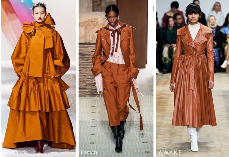 Sonbahar Kış 2019 2020 Moda Renk Trendler