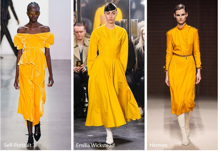 Sonbahar Kış 2019 2020 Moda Renk Trendleri