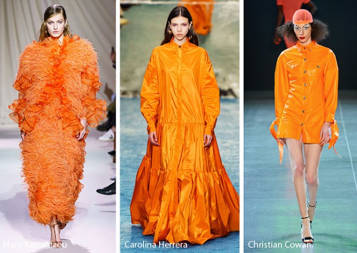 sonbahar kış moda renkleri 2020