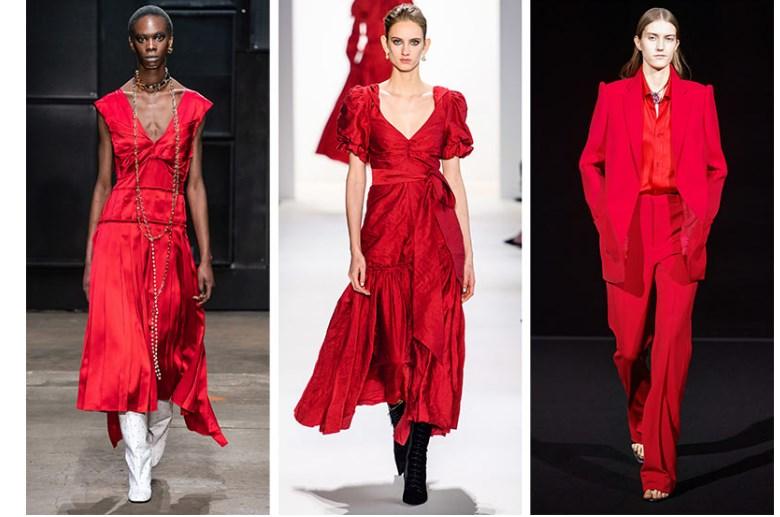 sonbahar kış trend moda renkler 2020