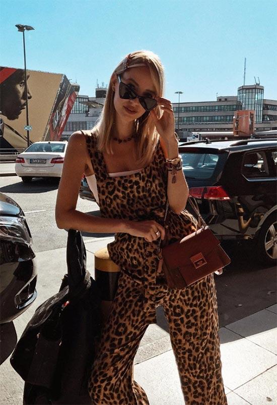Profosyoneller gibi leopar desen nasıl giyilir