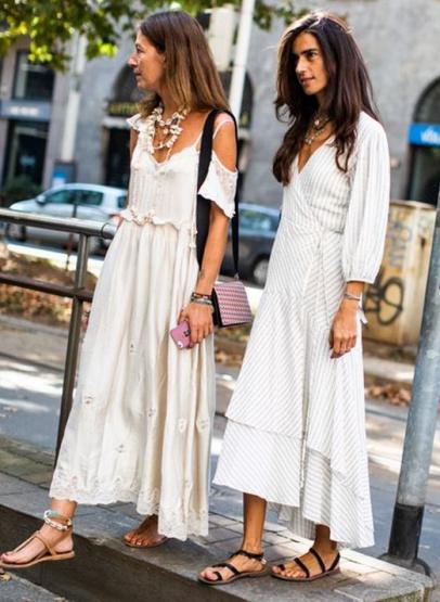 rustik tarz yazlık elbiseler 20