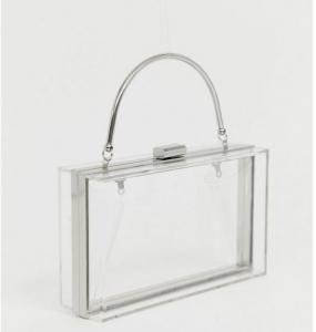 şeffaf kutu çanta modelleri