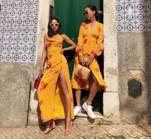 yaz modası günlük elbiseler 2019 2020