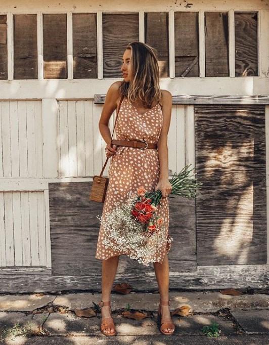 yazlık askılı elbise modelleri 2019 2020