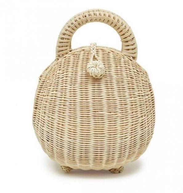 yazlık sepet çanta modeli