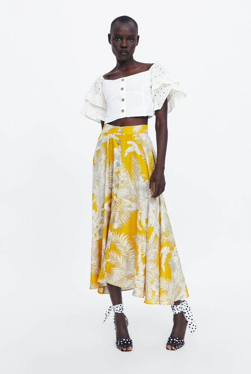 zara crop bluz modeli 2019