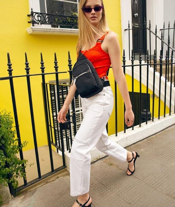 beyaz bol kot pantolon modelleri 2020