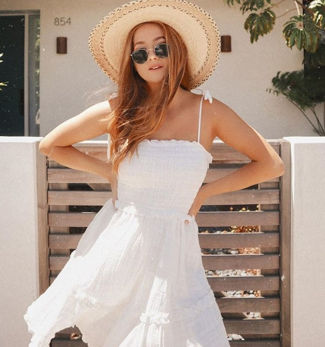 beyaz yaz elbiseleri 2020