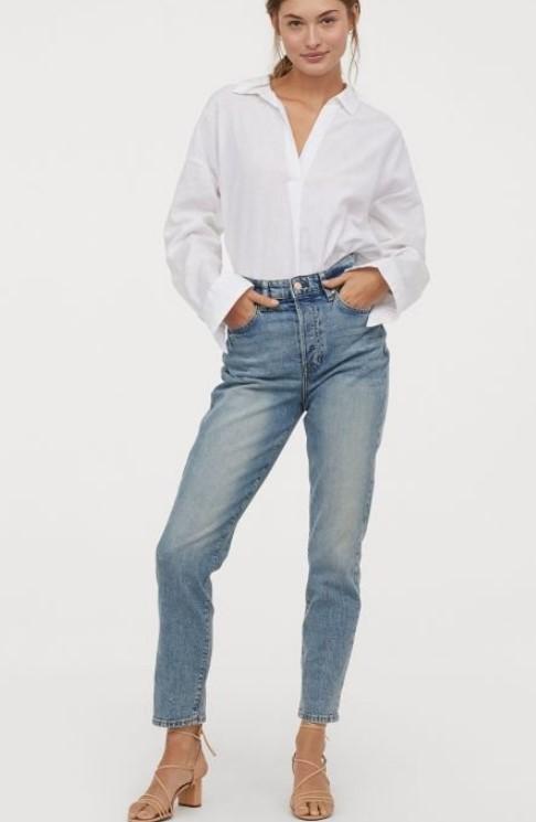 H & M 2019 yaz kot pantolon modelleri