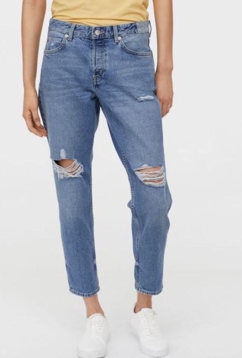 H & M yaz kot pantolon modelleri 2019