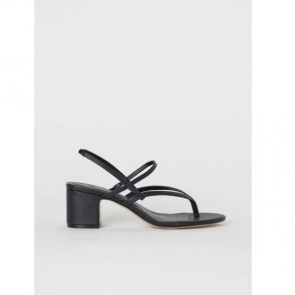 hm parmak arası topuklu sandalet modeli 2020