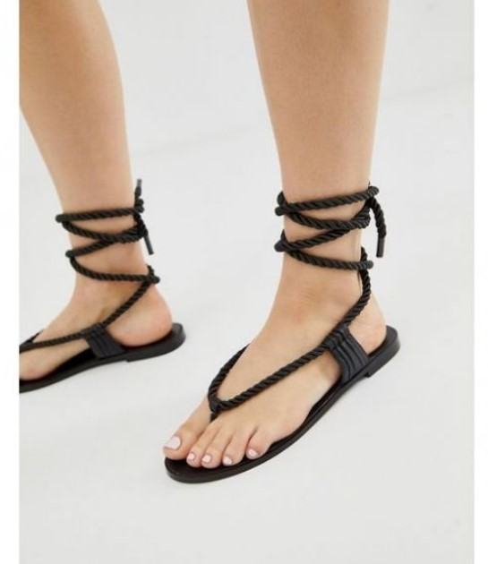 parmak arası halat sandalet modelleri 2020