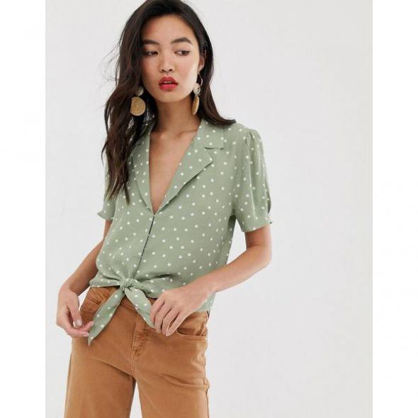 puantiyeli bluz modelleri 2020