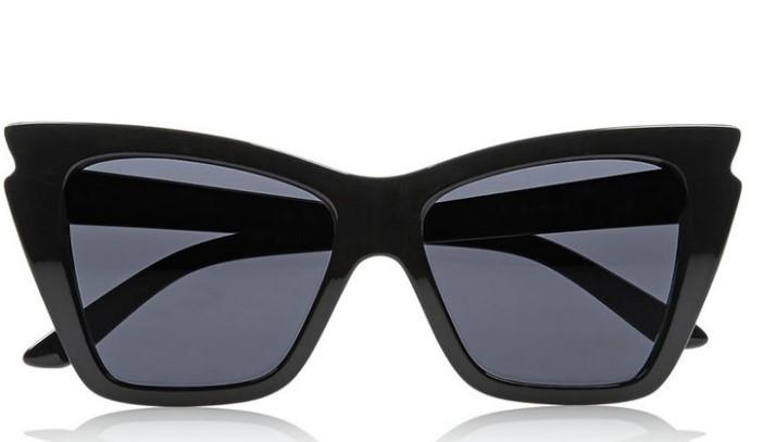siyah kedi gözü büyük boy güneş gözlüğü