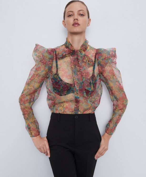 Zara sonbahar bluz modelleri 2019 2020