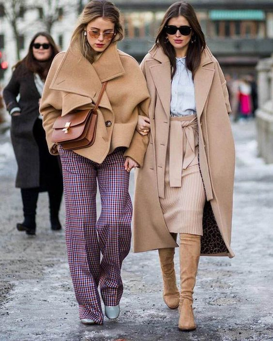camel rengi manto modelleri 1